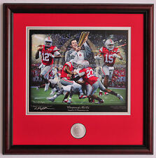 Ohio State 2014 National Championship Game vs. Oregon Framed & Matted print