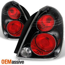 Fits 02-06 Altima SE-R Style *Hyper Black* Tail Lights Brake Lamps Replacement