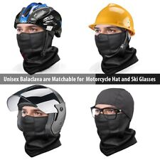 fa8d388537c Ski Full Face Mask Cover Hat Motorcycle Thermal Fleece Balaclava Neck Winter