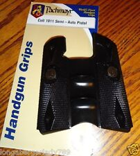 Pachmayr SIGNATURE COMBAT GRIPPER Rubber Countoured grips FOR Colt 1911 pistol