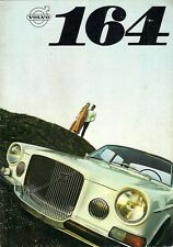 Volvo 164 1968-69 UK Market Sales Brochure