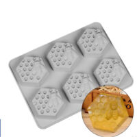 1 Pc 6 Cavity Silicone Bee Hive Decor Handmade Soap Mould Resin Mold UK