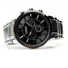 Neu Luxus CURREN Herren Mode Uhren Edelstahl-Date Sport Analog Quartz Armbanduhr