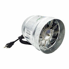 Hydroplanet Duct Booster exhaust Fan, 4-inch, 100 CFM