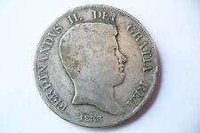 MONNAIE ARGENT ÉCU 120 G.  ITALIE 1833   !!