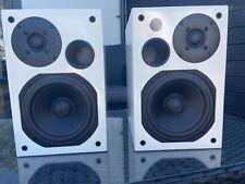 AVI ADM 9 Active Speakers gloss white *cosmetic damage*