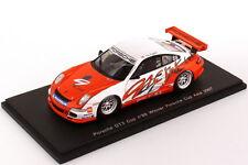 1:43 Porsche 911 GT3 Cup 997 Porsche Cup Asia 2007 Nr.88 Tim Sugden - Winner