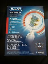 ORAL-B BRAUN PRO 5000 SMARTSERIES RECHARGEABLE TOOTHBRUSH BLUETOOTH BRAND NEW