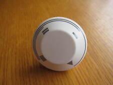 New White Electric Heater Knob - Creda Sunhouse Sunbeam Dimplex Berry Belling?