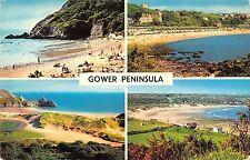 B101555 gower peninsula   wales 14x9cm