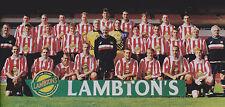SUNDERLAND FOOTBALL TEAM PHOTO>1998-99 SEASON