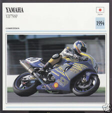 1994 Yamaha YZF750SP 750cc SP (749cc) Japan Bike Motorcycle Photo Spec Info Card