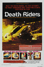 Death Riders (1976) cult Bikers movie poster print