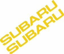 2 x Subaru Window Impreza Car Vinyl Sticker Graphic Decal