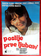 LA BOUM II 1982 FRENCH SOPHIE MARCEAU BRIGITTE FOSSEY RARE EXYU MOVIE POSTER