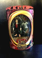 LORD OF THE RINGS TRAVELING BILBO (RED CARD) THE FELLOWSHIP TOYBIZ V-10 2003