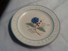 Stangl BLUE DAISY BREAD & BUTTER or  DESSERT PLATES  - 12 Available