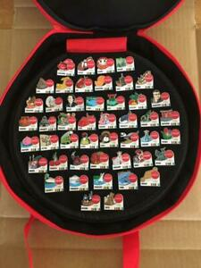 Coca Cola Tokyo 2020 Olympic All Japan Pin Badge Complete Set of 47 With Case