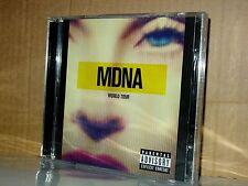MADONNA Mdna World Tour DOPPIO CD NUOVO  SIGILLATO!!!