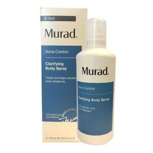 New Murad Acne Control Clarifying Body Spray 130ml/4.3oz with Free Shipping