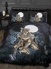 Official Alchemy Black Gothic Loups Garou Werewolf Duvet Cover Bedding Set