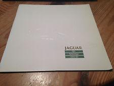 Jaguar Xj6 Sovereign Daimler Brochure Range 1987 + separate Specification