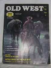 Spring 1976 - Old West - Magazine Back Issue - Bear Island Gold / Battle of Mini
