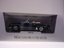"GSPKW GSDB ERTL BY MERCEDES ""190 SL ROADSTER"" DARK BLUE,1:18, NEU/NEW/NEUFn BOX"