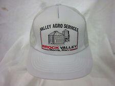 trucker hat baseball cap VALLEY ARGO SERVICES retro snapback cool mesh 1980 rare