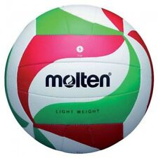 Molten Synthetic Leather Hand Stitched Volleyball- White