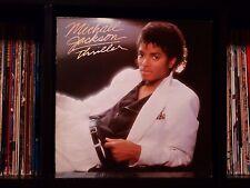 Michael Jackson ♫ Thriller ♫ Rare 1982 Epic Canada Import LP w/Textured Cover EX