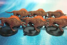 Dungeons & Dragons Miniatures Lot  Hell Hound Demon Dogs !!  s104