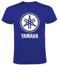 Camiseta Yamaha logo motos motocicletas Hombre varias tallas y colores a067
