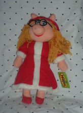 "2007 The Muppets Miss Piggy Eye Glasses 17"" Plush Soft Toy Stuffed Animal"