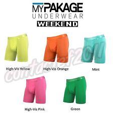MyPakage Men's ASSORTED WEEKEND Boxer Underwear NEW IN BOX!
