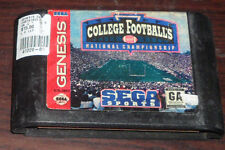 Sega Genesis. College Football's National Championship