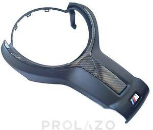 BMW LCI M sport steering wheel front plastic F20 F30 carbon styling 32307848268
