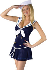 Sexy Sailor Costume Outfit  Fancy Dress Ladies Woman