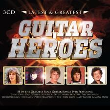 GUITAR HEROES-LATEST & GREATEST 3 CD NEW+ CHRIS SPEDDING/WARREN ZEVON/JOE WALSH