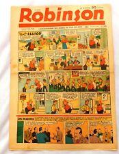 ROBINSON n°209 du 28 avril 1940. N° peu courant.  Très bel état