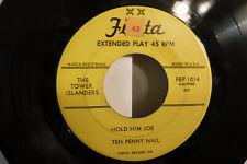 Tower Islanders, Hold Him Joe/Ten Penny/Brown Skin Gal/Bargie,Fiesta FEP 1014,EP