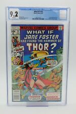 What if 10 CGC 9.2 NM- 1st Jane Foster as Thor WHITE pgs Journey into Mystery 83