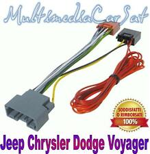 PHONOCAR 4745 CAVO ISO AUTORADIO CHRYSLER Grand VOYAGER no amply 08>