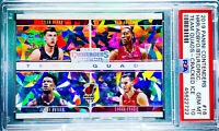2019 Contenders HERRO RC Cracked Ice/25 Team Quad BULTER BAM DRAGIC PSA 10 Pop 1