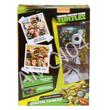 Teenage Mutant Ninja Turtles Boys 2.1MP Digital Camera Photo Booth 6 Props New