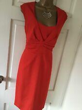 STUNNING COAST ORANGE/ RED OCCASION DRESS SIZE 14