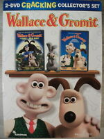 Wallace & Gromit Crackling Collector's Set (2 DVD's, 2006)
