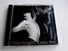 Mayhem Mediolanum Capta Est CD Avantgarde Music Made in Italy 1999 New Sealed