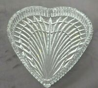 Waterford Crystal Heart Shaped Tray