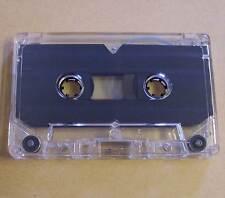 Leerkassette transparent zB Musik Hörspiele Kassetten 2 x 20 min 40 Minuten Neu